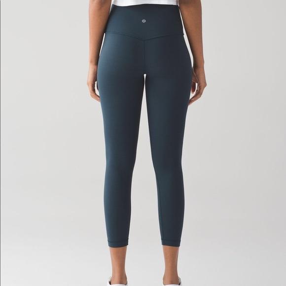 2cf509fee lululemon athletica Pants - Lululemon Align Pant II in Nocturnal Teal. Size  4.